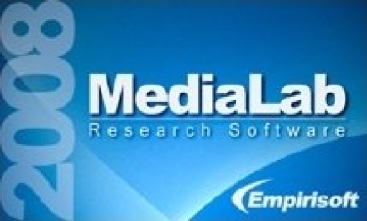 Our main research software is MediaLab by Empirisoft.